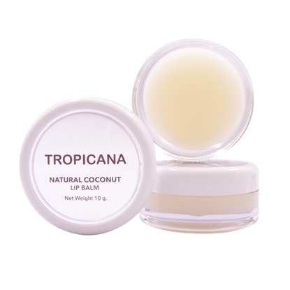 Picture of Natural Coconut Lip Balm Coconut Delight 10 g.