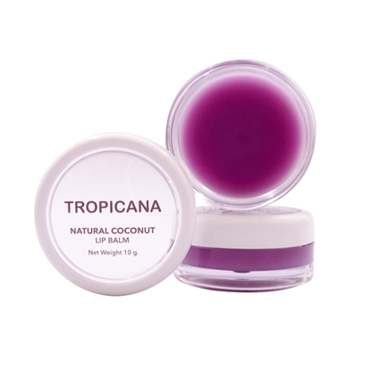 Picture of Natural Coconut Lip Balm Mulberry Cheerful 10 g.