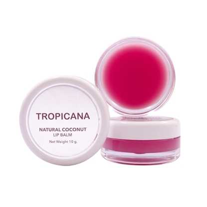 Picture of Natural Coconut Lip Balm Pomegranate Joyful 10 g.