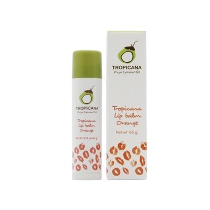 Picture of Natural Coconut Lip Balm Stick Orange 4.5 g.