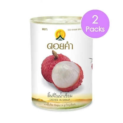 Picture of Doikham Lychee In Sryup 565 g (2 packs)