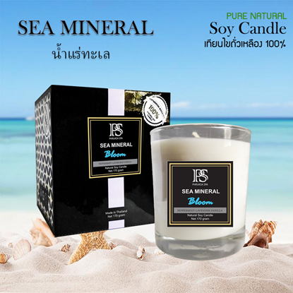 Picture of Soy Wax Candle - Sea Mineral