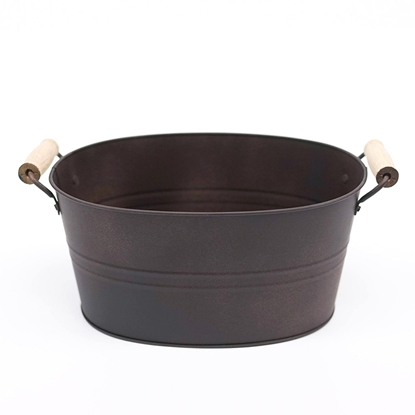 Picture of Copper Galvanize Bread Bucket (Large Size)