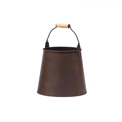 Picture of Copper Rust Galvanize Cone Pot (Large Size)