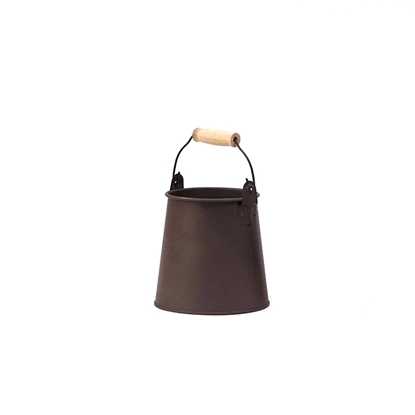 Picture of Copper Rust Galvanize Cone Pot (Small Size)