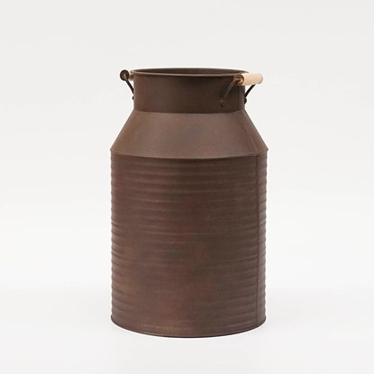 Picture of Copper Rust Galvanize Milk Can (Large Size)