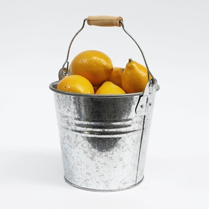 Picture of Galvanize Bucket with Wooden Handle (Large Size)