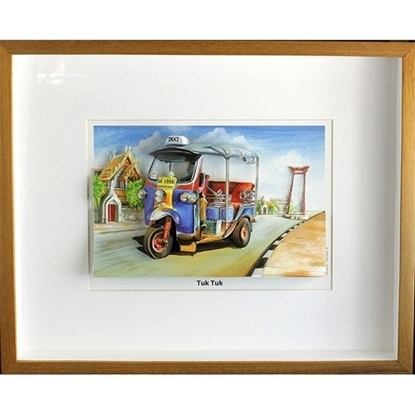 Picture of 3D Picture Frame -Tuk Tuk