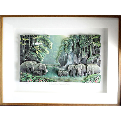Picture of A Magnificent Creature of Nature 3D Picture Frame