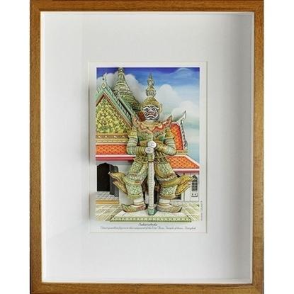 Picture of Sahatsadecha 3D Picture Frame - Wat Arun Giant Statue(กรอบรูปรูปยักษ์วัดอรุณ)
