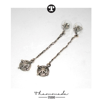 Picture of COMPASS LONG EARRING