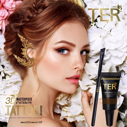 Picture of TER Masterpiece 3D Eyebrow Tattoo Waterproof