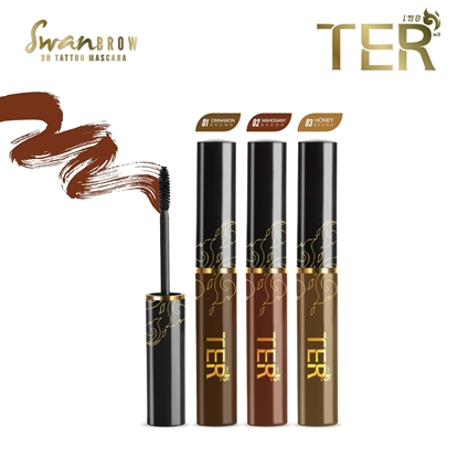 Picture of TER SwanBrow 3D Tattoo Eyebrow Mascara - Honey Brown