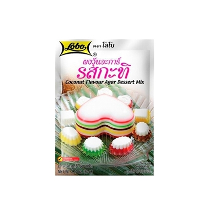Picture of Lobo Coconut Flavour Agar Dessert Mix