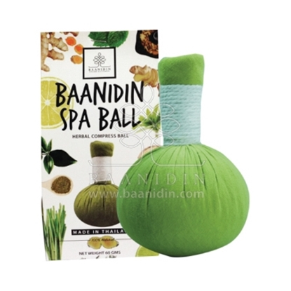 Picture of BAANIDIN Green Tea Herbal Compress Ball (150g)
