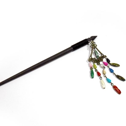 Picture of Hair Accessories Wooden Hair sticks