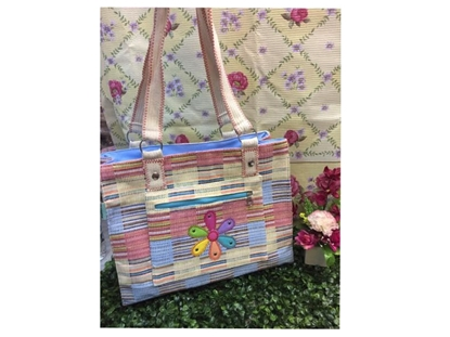 Picture of Flora  Shoulder Bag with  Front Zipper