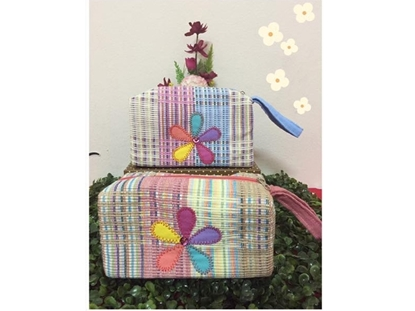 Picture of Flora Box Cosmetic Bag