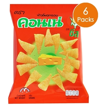 Picture of Cornae Corn Snack - Cheese 14 g (6 Packs)