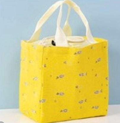 Picture of Cooler Lunch Bag - Yellow Fish