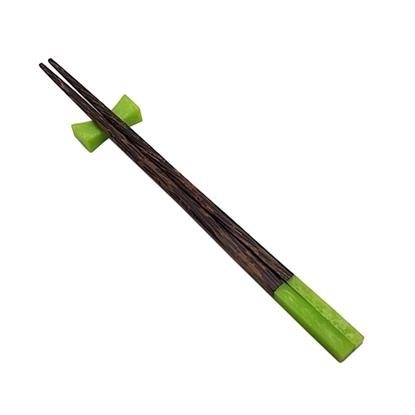 Picture of ตะเกียบไม้&เรซิ่น (สีเขียว)