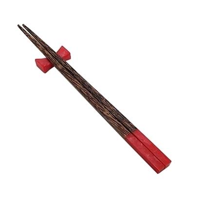 Picture of ตะเกียบไม้&เรซิ่น (สีแดง)