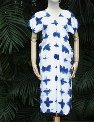 Picture of Indigo Tiedye Karen Maxi Dress
