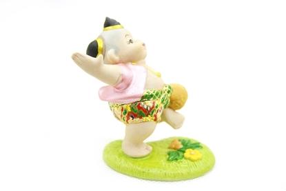 Picture of ตุ๊กตาการละเล่นไทย-เตะตะกร้อ
