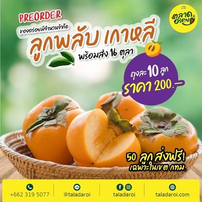 Picture of Premium Korean Persimmon 10 pc.