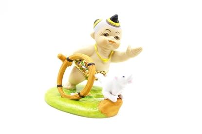 Picture of ตุ๊กตาการละเล่นไทย-ตีวงล้อ