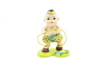 Picture of ตุ๊กตาการละเล่นไทย-เดินกะลา
