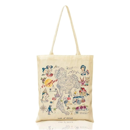 Picture of Say Hi Thailand Fabric Tote Bag