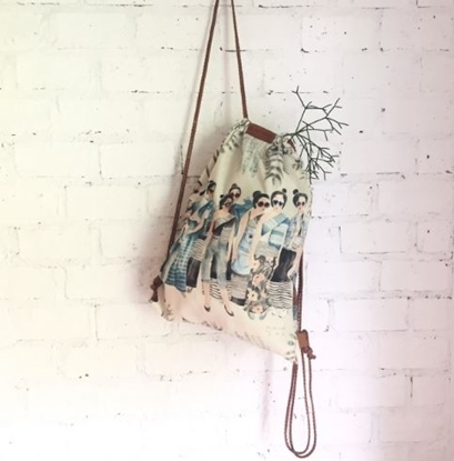 Picture of Thai Lady Drawstring Backpack