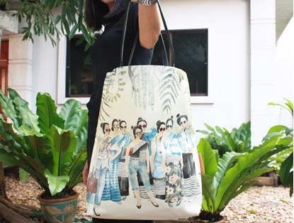 Picture of Thai Lady Tote Bag