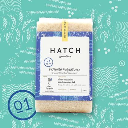 Picture of Organic White Rice - Vessantara Refill Pack 750g.