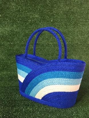 Picture of Lotus Blossom Parn Sorn Narai Bag (blue)