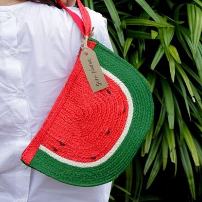 Picture of Watermelon Clutch Parn Sorn Narai Bag