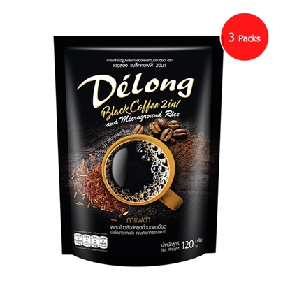 Picture of Delong Black Coffee 2in1 (Pack 3)