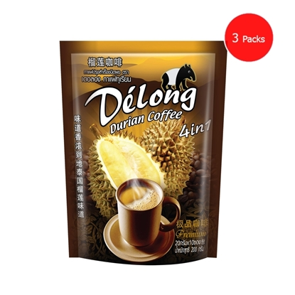 Picture of Delong Durian Coffee 4in1 (Pack 3)