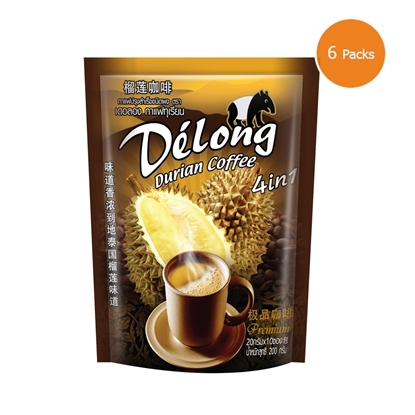 Picture of Delong Durian Coffee 4in1 (Pack 6)