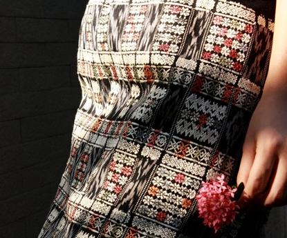 Picture of ศรีมาลา - ผ้าไหมตีนจก มัดหมี่ ปักมือ