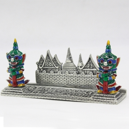 Picture of Loyfar Couple giants hand-crafted pewter card holder