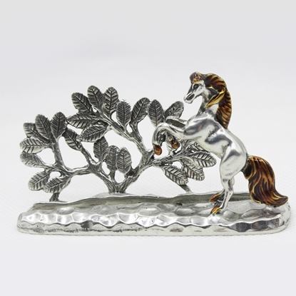 Picture of Loyfar Horse hand-crafted pewter card holder