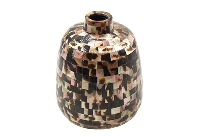 Picture of Brown Pearl Fat Bowl Vase