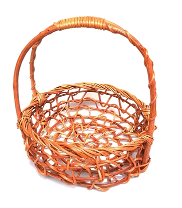 Picture of Bird's nest Rattan Basket 12 inch