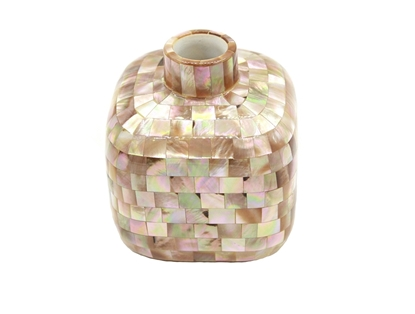 Picture of Rosegold Pearl Square Vase