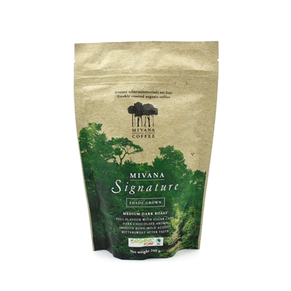 Picture of MIVANA COFFEE Freshly roasted organic coffee