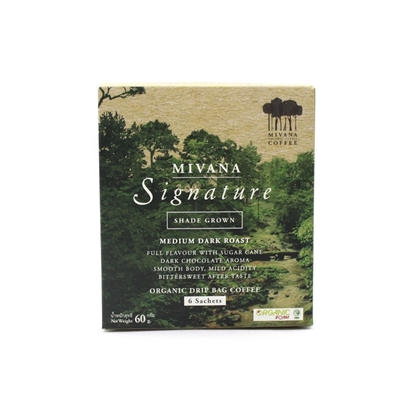 Picture of MIVANA COFFEE Freshly roasted organic drip bag coffee (6 Sachets)