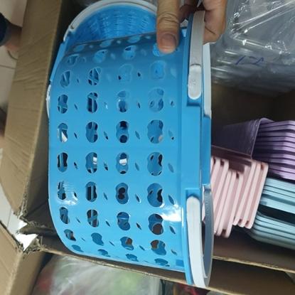 Picture of ตระกร้าพลาสติกอเนกประสงค์ คละสี ขนาด 10*8 นิ้ว