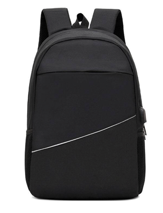 Picture of กระเป๋าเป้สีดำ สำหรับใส่โน๊ตบุ๊ค